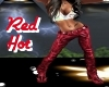 Red Hot Leather Pants