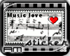 [AM] Music Lover Stamp
