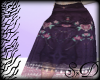 |SrD| Gypsy Plum Skirt