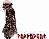 ☆dress rose black
