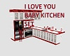 I LOVE YOU BABY KITCHEN