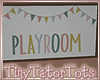 T. Poppy Playroom Sign