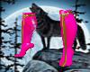 latex wonderbimbo boots