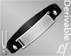 -V- Plate Bracelet Lf M