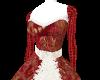 Christmas Burlesque dres