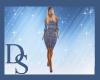 Gala Dress Indigo