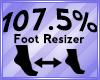 Foot Scaler 107.5%