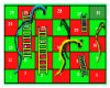 Snakes & Ladders Game.
