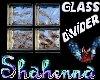 Glass block Room Divider