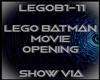 Lego Batman Show Opening