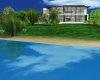 Beach mansion pool