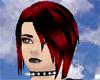 Vampiress Red Lulu Bangs