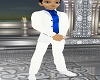 White and Blue Tux