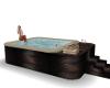 Night time Hot Tub Spa