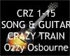 Crazy Train + Guitar