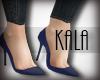 !A blue shoes