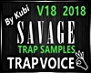 TRAP~SAVAGE SAMPLES@|K|