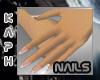 Small Hands Natural nail