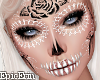 Glitter SugarSkull -HEAD