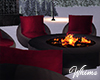 WInter Seating Fire