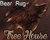 [M] Tree House Bear Rug