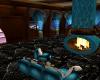 teal ocean room