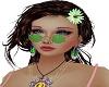 Hippie shades green