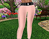 Peach Skinny Pants RL