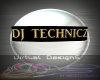 GOLD DJ TECHNICZ SIGN