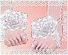 Rose Sandals |White