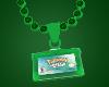 Pokemon Emerald Necklace