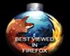 XMAS FIRE FOX STICKER