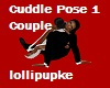 Cuddle pose 1 Couple