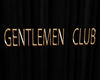 sign gentlemen club gold