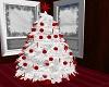 Red White Christmas Tree