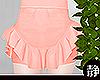 ☁ Frill Skirt l Pink