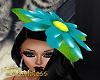 Daisy Hat Teal