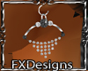 (FXD) Goth Earrings Blk