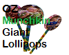OZ Munchkin Lollipops