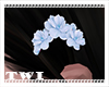 Kawaii Hair Flower Blue