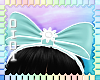 !D! Headband Bow Mint