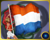 Dutch flag with poses