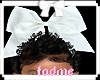 PP basic white bow e
