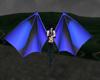 Blue Demon Wings