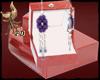 FD}Flor lilac Earrings