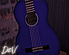 !D Blue Accoustic Guitar