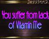 J2 Vitamine Me Sign