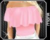 Pink Gypsy Top Hiszpanka