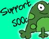 |P| Support - 500c
