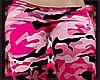 Pink camo silk PJ